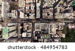 top view aerial photo from... | Shutterstock . vector #484954783