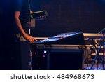 concert preparation | Shutterstock . vector #484968673