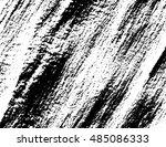 grunge black vector texture... | Shutterstock .eps vector #485086333