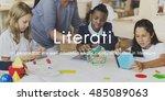 literati literature highly... | Shutterstock . vector #485089063