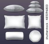 set of pillows | Shutterstock .eps vector #485096803