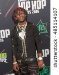 Small photo of Lil uzi vert attends the 2016 BET Hip Hop Awards in Atlanta Georgia September 17, 2016 at the Cobb Energy Performing Arts Center