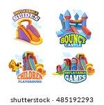 illustration set of color...   Shutterstock . vector #485192293
