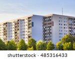 public housing in berlin during ...   Shutterstock . vector #485316433