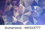 abstract geometric background.... | Shutterstock .eps vector #485323777