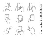 Gesture Icons For Smartphones....