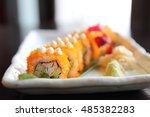 California Maki Sushi Japanese...