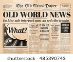 Old Newspaper Vintage Design....