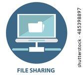 file sharing concept folder...