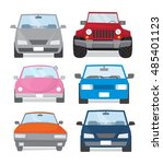 car icon set | Shutterstock .eps vector #485401123
