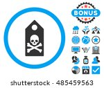 death mark icon with bonus...