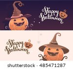 Vector Template With Halloween...