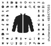 jacket icon illustration...   Shutterstock .eps vector #485477053