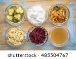 A Set Of Fermented Food Great...