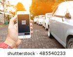 chiang mai thailand sep 02 2016 ... | Shutterstock . vector #485540233