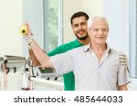 supporting his patients.... | Shutterstock . vector #485644033