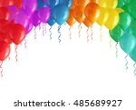 Arch Of Colored Balloons...