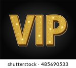 very important person   vip icon | Shutterstock .eps vector #485690533