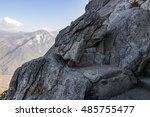 Rocky Bench On Moro Rock In...