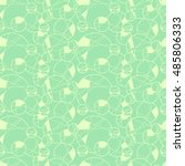 seamless creative hand drawn... | Shutterstock .eps vector #485806333