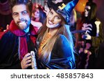 Witch And Vampire On The Party