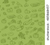vector seamless background... | Shutterstock .eps vector #485868457