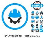 development icon with bonus... | Shutterstock . vector #485936713