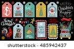 holiday christmas icon  symbol  ... | Shutterstock .eps vector #485942437