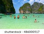 phi phi islands  thailand  ...   Shutterstock . vector #486000517