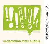 comic bubble with various... | Shutterstock .eps vector #486073123
