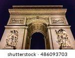 Arc De Triomphe De L'etoile In...
