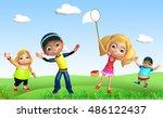3d rendered illustration of kid