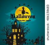 night terrors and nightmares...   Shutterstock .eps vector #486158683