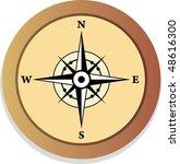 compass | Shutterstock .eps vector #48616300