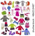 Large Set Of Fashion Children'...