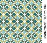 Vintage Mosaic Seamless Patter...