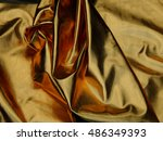 texture of golden material... | Shutterstock . vector #486349393