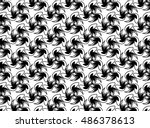 abstract background black and... | Shutterstock .eps vector #486378613