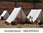 Vintage Civil War Tents