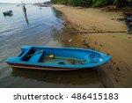 Fisherman Boat At Tanjung Aru...