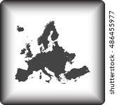 map of europe | Shutterstock .eps vector #486455977