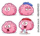 vector cartoon illustration of...   Shutterstock .eps vector #486489403