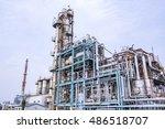 modern manufacturing industry | Shutterstock . vector #486518707