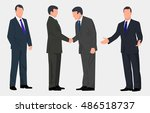 business people | Shutterstock .eps vector #486518737