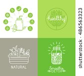 vector illustrations and icons... | Shutterstock .eps vector #486563323