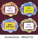 vector set of  cool design... | Shutterstock .eps vector #48663721