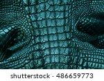 leather texture pattern... | Shutterstock . vector #486659773