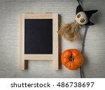 Hello Halloween Concept  Ghost...