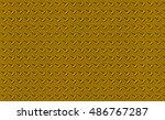 metal plate texture stainless... | Shutterstock . vector #486767287