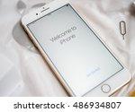 paris  france   sep 16 2016 ... | Shutterstock . vector #486934807